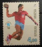 CROACIA 1995 - CROATIA - DEPORTES - HANDBALL.. - YVERT Nº 284 - Handbal