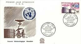 1964  Journée Météorologique Mondiale FDC - Chad (1960-...)