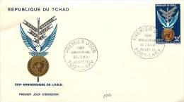 1970  25è Anniversaire De L'ONU  FDC - Chad (1960-...)