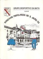 Covilhã - Grupo Desportivo Da Mata - Marchas Populares De S. João. Castelo Branco (4 Scans) - Boeken, Tijdschriften, Stripverhalen