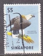 Singapore 69  (o)  FAUNA  BIRD Of  PREY - Singapore (1959-...)