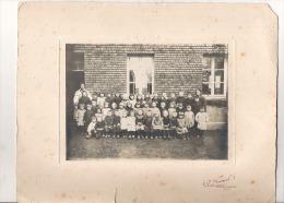 VINCEY ECOLE GARCONS ET FILLES 1925  C.P Mme  PERNOT - Personnes Anonymes