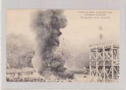 Sarthe - Le Mans - Pompiers - Concours De Pompes Juillet 1904 - Extinction D'un Incendie - Le Mans