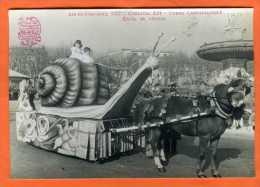 Carte Photo - AIX-EN-PROVENCE  1952 Canaval LII - Corso Carnavalesque : Excès De Vitesse - Aix En Provence