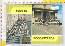 Y19668 ROCCASTRADA SALUTI DA FILARMONICA FULCERI BANDE MUSICALI MAJORETTES - Grosseto