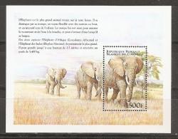 ANIMALES - COMORES 1999 - Yvert #H85A - MNH ** - Elefantes