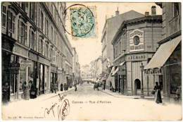 Cannes - Rue D'Antibes (magasin Coiffeur à Droite) - Cannes