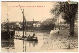 ROCHEFORT - Bassin N° 1  - Péniche  (57040) - Rochefort