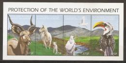 MEDIO AMBIENTE - COMORES 1999 - Yvert #H1010A/D - MNH ** - Protección Del Medio Ambiente Y Del Clima