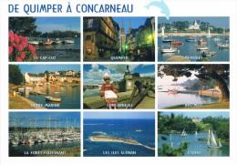 DE QUIMPER A CONCARNEAU : Cap-Coz, Quimper, Bénodet, Ste-Marine, Concarneau, Beg-Meil, Forêt-Fouesnant, Les Glénan... - Quimper