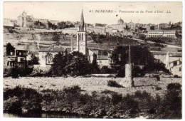 Aubenas - Panorama Vu Du Pont D'Usel - Aubenas