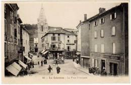 La Louvesc - La Place Principale - La Louvesc