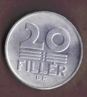 HUNGARY 20 FILLER 1981 SPL_UNC - Hungary