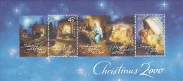 Australia 2000 Christmas MS - Blocks & Sheetlets