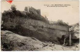 Montpézat - Le Château Et La Cascade De Pourcheyrolles - Sonstige Gemeinden