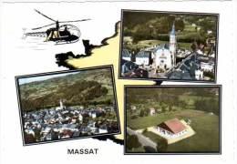Massat - Multivues, Hélicoptère - France