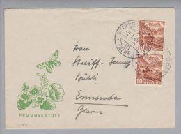 Schweiz Pro Juventute 1948-01-02 Auf PJ-Briefli 1948 - Pro Juventute