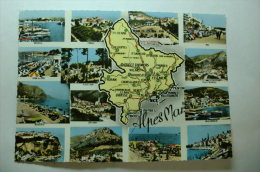 D 06 - Antibes, Cabris, Grasse, Nice, Beaulieu, Luceram, Villefranche, Vence, Menton, Cannes, Puget Theniers, Juan Les P - France