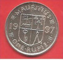 MAURITIUS - 1997 - COIN MONETA - 1 RUPIA RUPEE  - CONDIZIONI SPL - Mauritius