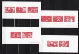 """4 Gravures Officielles De 2005 N° YT 3842 à 3851 """" JEUX VIDEO : MARIO SPYRO LARA CROFT SIMS ADIBOU PAC-MAN RAYMAN ..."""" - Documents Of Postal Services"""