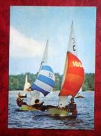 International Cadet Class  - Sailing Boat - 1980 - Estonia USSR - Unused - Voiliers