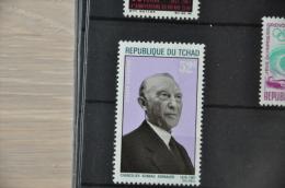 P 110 ++ TSJAAD REPUBLIQUE DU TCHAD ADENAUER ++ NEUF MNH ** - Tsjaad (1960-...)