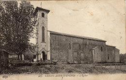 83 Sainte Anne D'Evenos. L'église - Sonstige Gemeinden