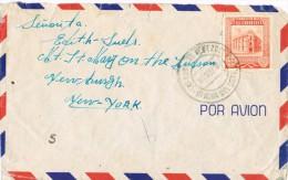 3646. Carta Aerea CARACAS (Venezuela) 1949 A New York - Venezuela
