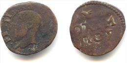 Quattrino De Frédéric II De Gonzague Duc De Mantoue 1519-40 - Regional Coins
