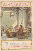 DP00156 - NEDERLAND AMSTERDAM - ADVERTISEMENT VAN VEEN TEA SELLERS - THEEHANDEL - PRICE LIST RR - Amsterdam