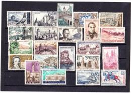 FANCE 1957 -1958  LOT OBLIT  TOUS TB - Francia