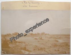 Photo Mer Bateau Village 1900 île CHAUSEY Manche 50 Normandie Bretagne - Plaatsen