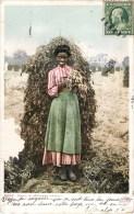 POLLY IN A PEANUT PATCH LOS ANGELES ABITA METIER RECOLTE DE LA CACAHUETE ARACHIDE NEGRITUDE 1900 - Cultivation