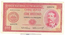 Cape Verde 100 Escudos 1958 - Cape Verde