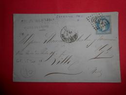 Lot Du 14-06-13_38_lettre De Flers Sur Ormes GC 1520;ambulant Granville-paris,rare;a Voir! - Marcofilia (sobres)