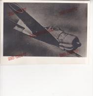 Photo Beau Format Aviation Guerre Retirage D´époque ? Excellent état - Aviation