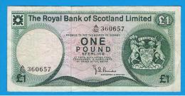 ESCOCIA - Scotland = 1 Pound 1973   P-336 - 1 Pound