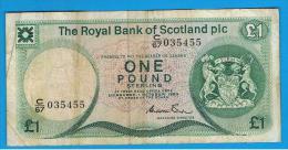 ESCOCIA - Scotland = 1 Pound 1983   P-341 - [ 3] Escocia