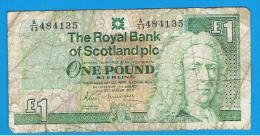 ESCOCIA - Scotland = 1 Pound 1988   P-351 - 1 Pound