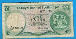 ESCOCIA - Scotland = 1 Pound 1984   P-341 - 1 Pound