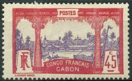 Gabon (1910) N 43 * (charniere)