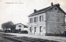THENELLIERES - BEAU PLAN DE LA GARE DU BOURG -  TOP !!! - Stazioni Senza Treni
