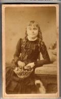CDV - Young Girl - Antiche (ante 1900)