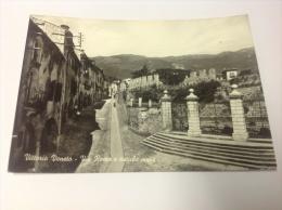 VITTORIO VENETO - Via Roma E Antiche Mura - Cartolina FG BN V 1962 - Italie