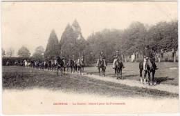 SAINTES - Le Haras - Départ Pour La Promenade    (57100) - Saintes