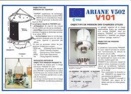 Vol Ariane V502 2ème Lancement Ariane5 Document ESA 3-10-1997 - Europe