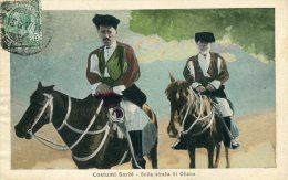 Costumi Sardi - Sulla Strada Di Oliena - Nuoro