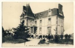 CP, 49, Cholet, Hôtel Particulier, Voyagé En 1915 - Cholet