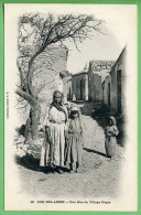 SIDI-BEL-ABBES - Une Rue Du Village Nègre - Sidi-bel-Abbès
