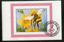 Sharjah - UAE Honey Bee Insect  Fauna Flora M/s Cancelled # 3958 - Abeilles